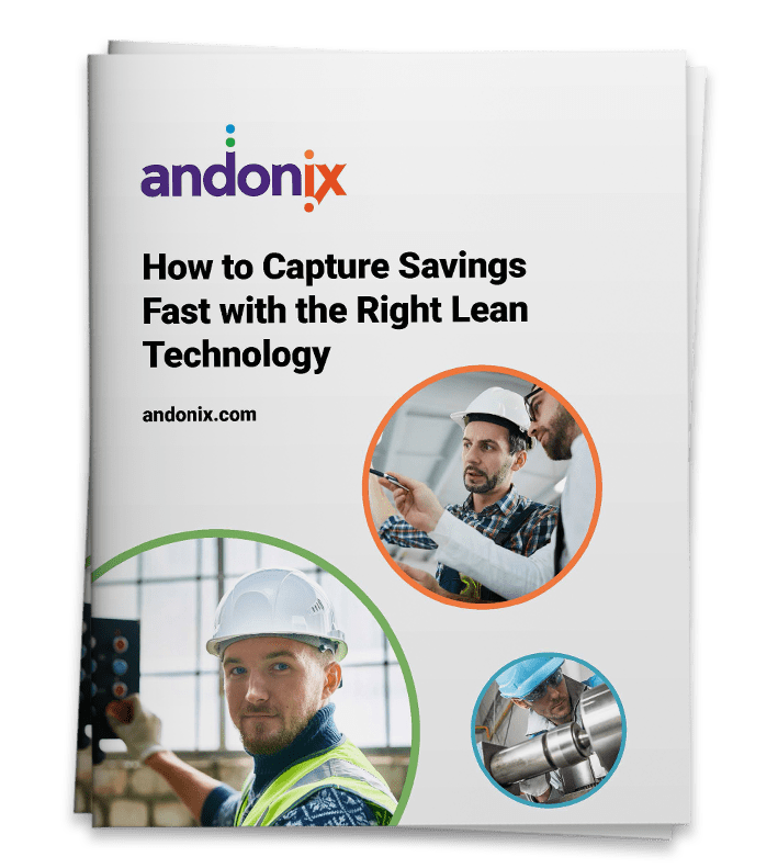 eBook: How to Capture Savings Fast with the Right Lean Technology