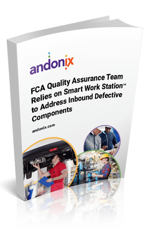 FCA Quality Assurance Team Relies on Smart Work Station to Address Inbound Defective Components