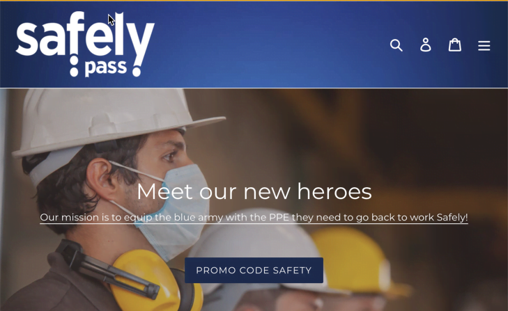 Andonix Opens 'Safely Pass™ Storefront' To Equip Front-line Workers with Protective Gear Amidst COVID-19 Concerns