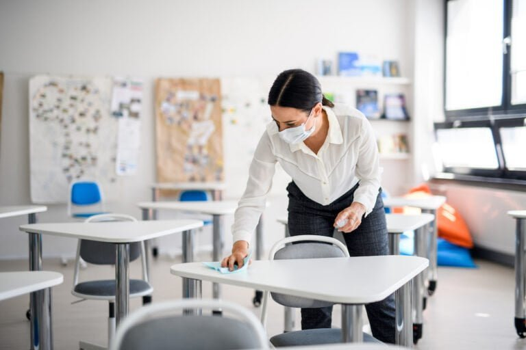 Keeping Staff and Educators Safe As Children Go Back to School